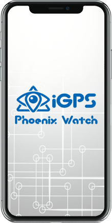 iGPS Watch Safety GPS Watch for Seniors mobile app