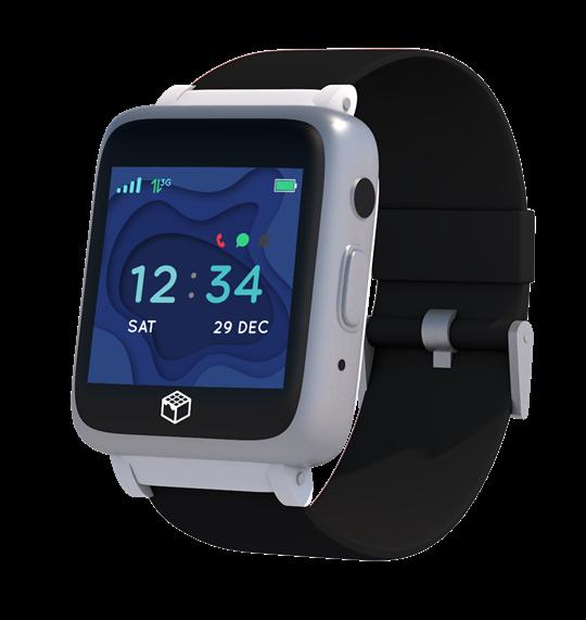 Safety Phoenix Watch for Seniors iGPS Watch color black