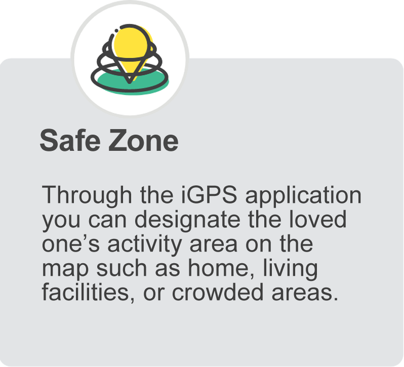 iGPS Phoenix Watch Safe Zone Virtual Fence
