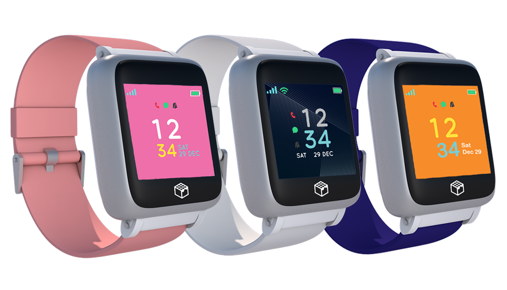 iGPS Phoenix 4G wearable safety watch for seniors